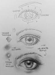 eyebrow shading drawing. drawing art eyebrow shading
