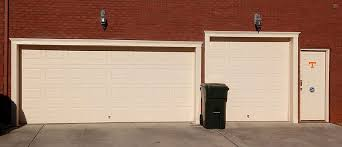garage doors with lintellift system installed