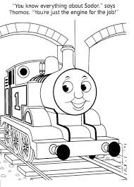 Fun Coloring Pages Thomas The Tank Engine Coloring Pages Fun W