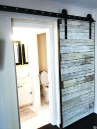 bathroom barn door barn doors pertaining to sliding door for bathroom decorations diy barn door
