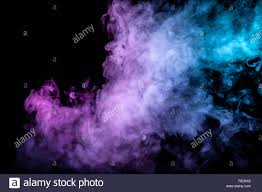 background green and blue clouds of isolated colored smoke blue red green pink
