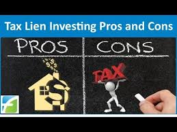tax lien investing tax lien investing pros and cons youtube