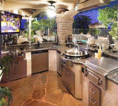 Tropical Outdoor Kitchen Designs Custom Inspiration Ideas