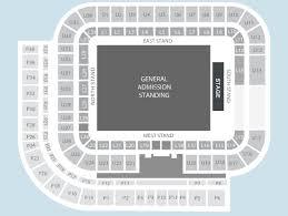 Sunderland Empire Seating Chart Standing Seating Plan Sunderland Stadium Of Light