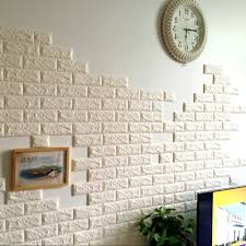 3d brick wall art in 2018 pe foam wall stickers patterns 3d diy wall decor brick