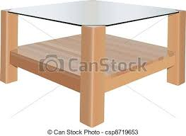 coffee table drawing.  Table Coffee Table  Csp8719653 Intended Coffee Table Drawing W
