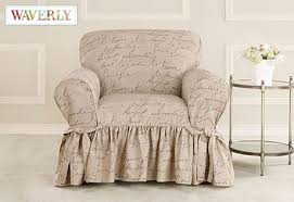 Elegant Armchair Slipcovers with Sure Fit Category MHerger Furniture