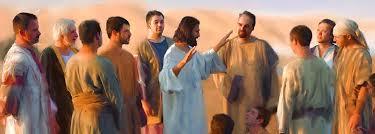 Resultado de imagem para JESUS E SEUS DISCIPULOS