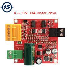 <b>6 36V 15A High Power</b> DC Motor Driver Board Precise DC Motor ...