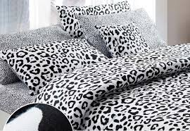 black and white brief style modern y leopard print 100 cotton comforter duvet cover bedding set queen king size 2295 bedding sheets queen duvet cover