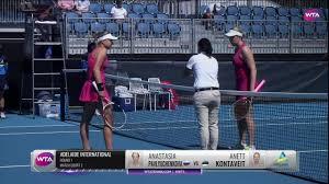 WTA - Adelaide Day 1 | A. Pavlyuchenkova vs. A. Kontaveit | Match  Highlights