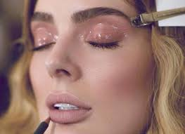 get the glossy makeup look this season