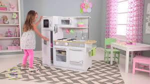 Kidkraft Petal Pink Kitchen Uptown White Kitchen 53335 On Vimeo