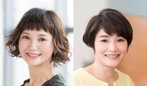 40代の髪型7選ショート面長丸顔に似合う髪型はパーマや忙しい