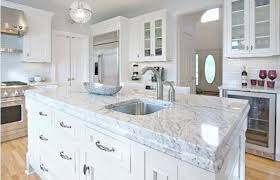 image of white granite that looks like carrara marble