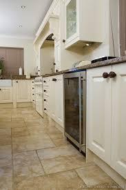 white kitchen tile floor. Kitchen White Cabinets Tile Floor