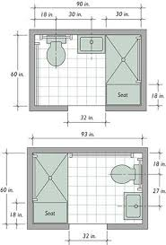 6 Option Dimension Small Bathroom Floor Plans layout Great for Effective  Space | bathroom | Pinterest | Small bathroom floor plans, Bathroom floor  plans and ...