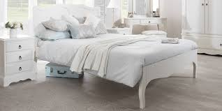 shabby chic furniture bedroom. Romance Shabby Chic White Bed / Double 4ft6 Or King 5ft Furniture Bedroom E