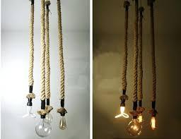 rope pendant light rope pendant light chandelier manila hemp rope swag ceiling lamp industrial country retro lights fixture rope pendant light uk