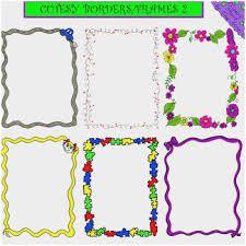 Preschool Page Borders Free Border Clipart For Teachers Wonderfully Preschool Graduation