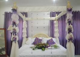 romantic bridal bedroom decorating