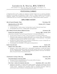 Nursing Graduate Resume Recent Graduate Resume Objective Airexpresscarrier Com