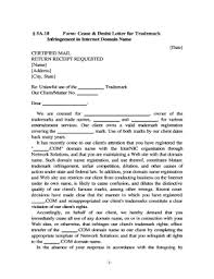 cease and desist template forms