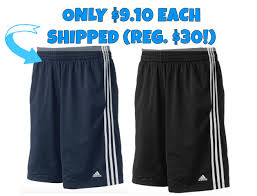 adidas 88387 shorts. head on over here where these adidas triple up performance shorts (in black or dark indigo) are sale for $18 (reg. $30!). even sweeter, add two pairs to 88387