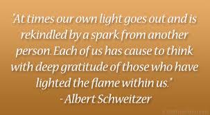 Flame Albert Schweitzer Quotes. QuotesGram via Relatably.com