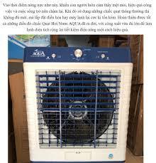Sales shock) Quạt điều hòa AQUA 65L nước 150W 8000m3 gió AQ-8000- Bơm tự  ngắt động cơ đồng- Quạt điều hòa hơi nước- Bảo hành 1 năm