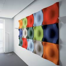 wall decor acoustic cladding panels melamine acoustic foam intended for well liked fabric covered foam