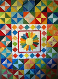 45 best Broken Dishes QUILTS images on Pinterest | Quilt patterns ... & Almost finished - Dresden Plate with Broken Dishes squares Adamdwight.com