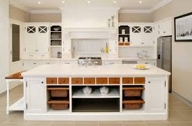 White country kitchen cabinets Old Kitchen Ideasrectangle White Country Kitchen Island With Open Storage Andk White Country Wood Kitchen Home Design Ideas Kitchen Ideas Rectangle White Country Kitchen Island With Open