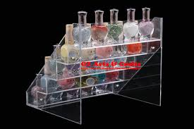 Acrylic Perfume Display Stand Transparent Stepped Nail Polish Display Stand Acrylic Perfume 92