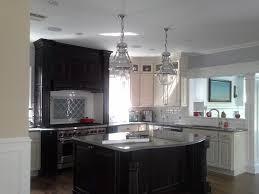 Attractive Image Of: Kitchen Island Semi Flush Mount Ceiling Light Idea