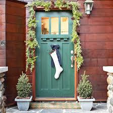 Backyards : Creative Front Door Christmas Decorations Decorating ...