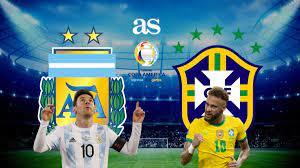 2021 final | Argentina vs Brazil: times ...