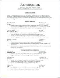 Resume Builder For No Work Experience Emelcotest Com
