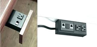 desk power outlet. Pop Out Electrical Outlet Node Electric Desk Power Remodeling How To Soundproof A Room