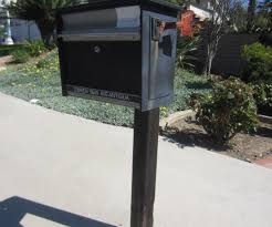exciting iron mailbox to decorate front yard landscaping ideablack iron mailbox to decorate diy network backyard
