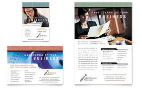 Free Accounting Brochure Templates Bookkeeping Accounting Services