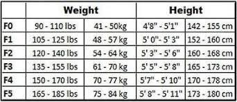 Kingz Size Chart