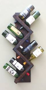 wine rack and storage ideas wall mounted wine rack bottle and glass holder shelf wine rack