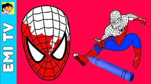 Small Picture Spiderman Coloring Pages For Kids How to color Spiderman coloring