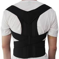 Aptoco Magnetic Therapy Posture Corrector Brace Shoulder Back Support Belt for Men Women Braces \u0026 Supports