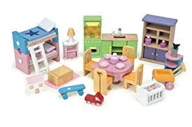 dollhouse furniture cheap. le toy van starter furniture set dolls house wooden accessory styles and colours dollhouse cheap