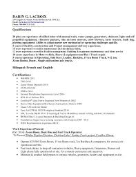 Resume Qualifications Stunning Resume General Qualifications