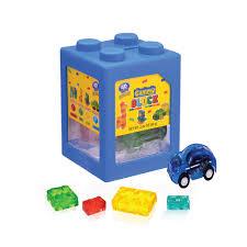 Kẹo dẻo đồ chơi xếp hình 4D hộp 35g Greenbox Online