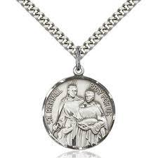 st raphael the archangel medal pendant 7 8