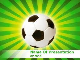 Brazil Soccer Worldcup Football Powerpoint Template